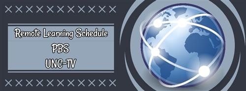 UNC-TV and PBS Remote Learning Schedule